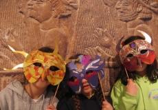 חגיגת פורים במוזיאון ארצות המקרא