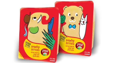 גבינת עמק במהדורה מיוחדת לילדים