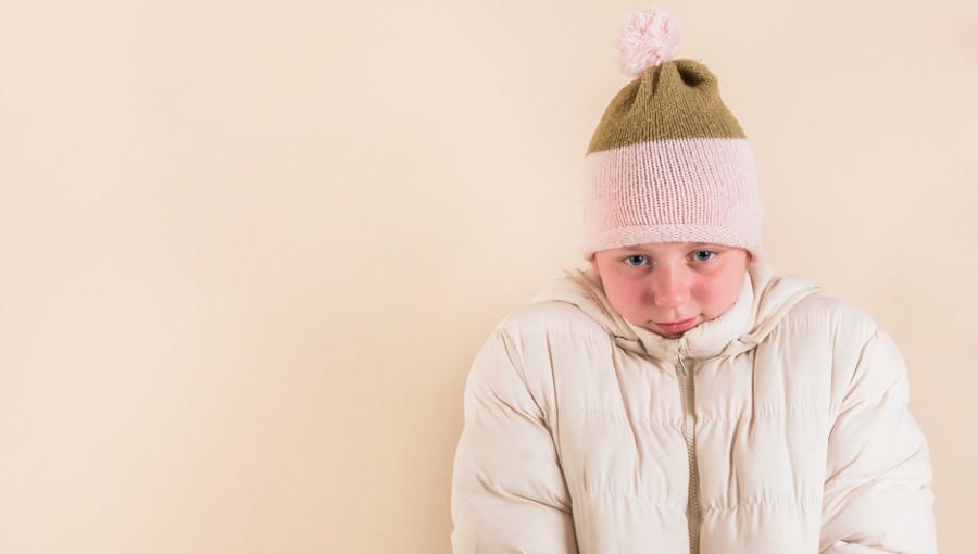 ילדים שלא מסכימים ללבוש בגדי חורף
