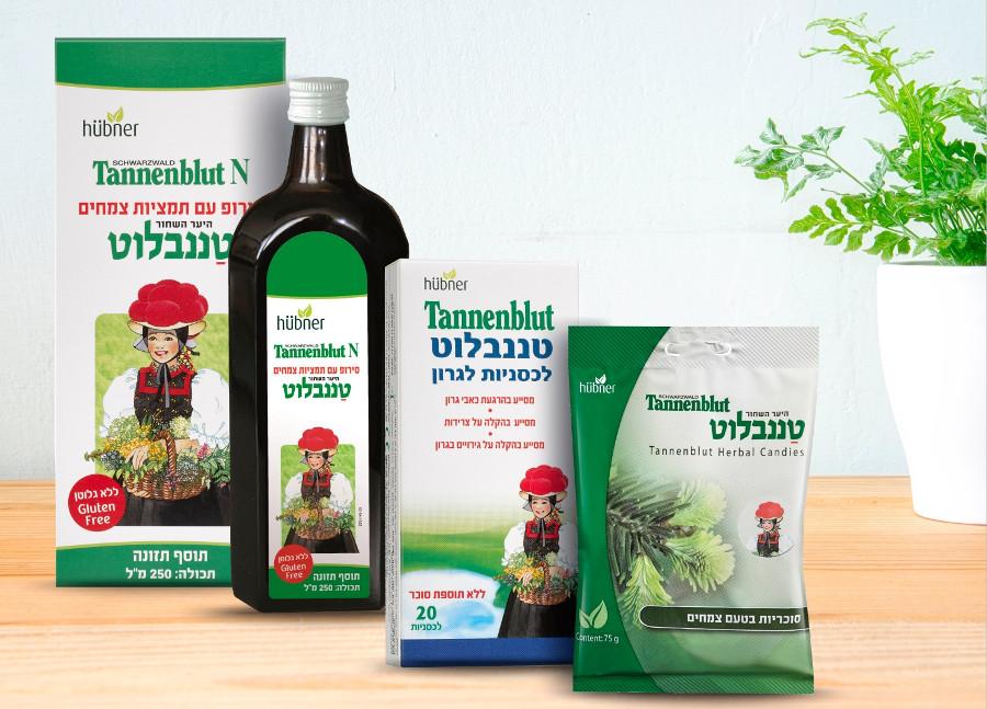 טננבלוט - סלסלת צמחי מרפא מהיער השחור