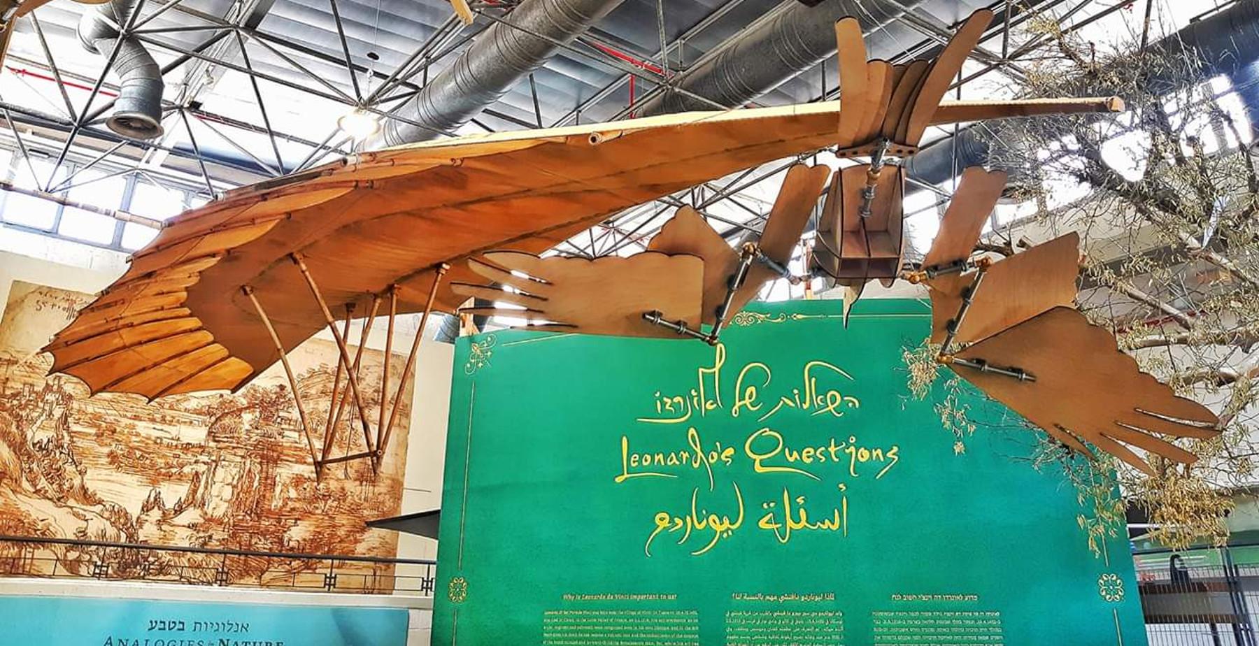 השאלות של לאונרדו - קיץ במוזיאון המדע בירושלים