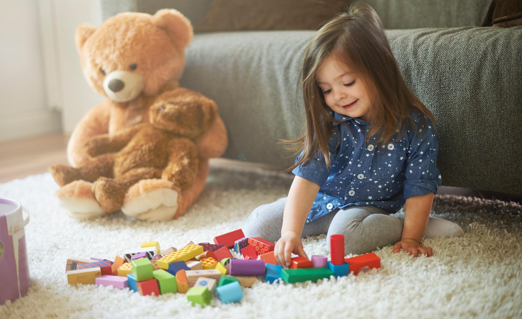 בחירת שטיח כשיש ילדים בבית