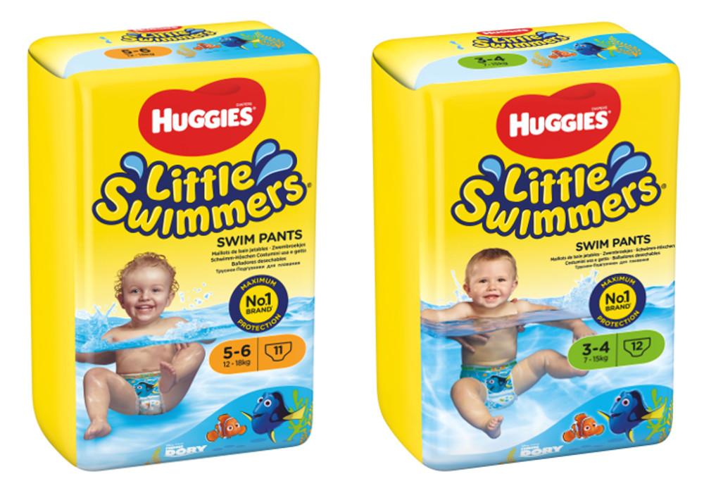 פותחים את הקיץ עם בגדי ים Huggies Little Swimmers