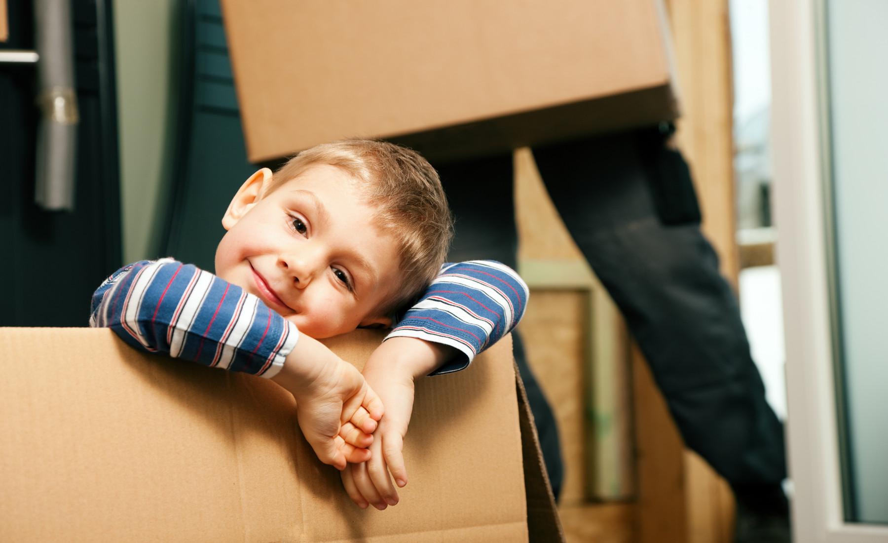 איך לעבור בשלום מעבר דירה עם ילדים?